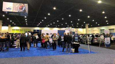 Photo of an Exhibit Hall